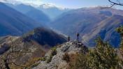 Pic de la Balme  - Randonnée à la journée Pyrénées - la vue des cimes