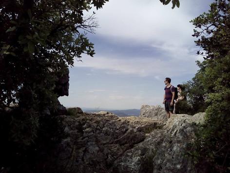Pic saint loup - Randonnée à la journée - la vue des cimes