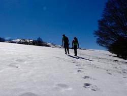 Sarrat de la Pelade - Randonnée à la journée Pyrénées - la vue des cimes