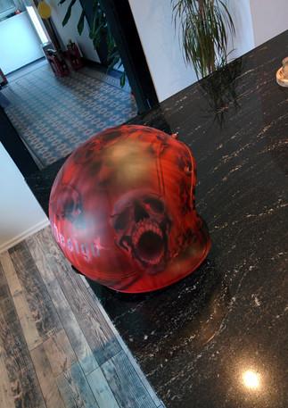 Fertiger Custom Helm - Ohne Klarlack