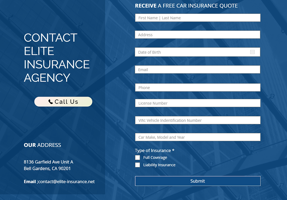 Car Insurance Free Estimates