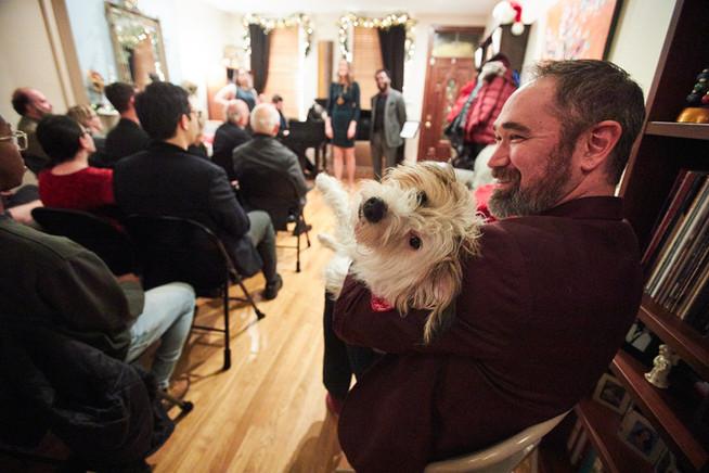 Bobb Hawkey & Kai the dog