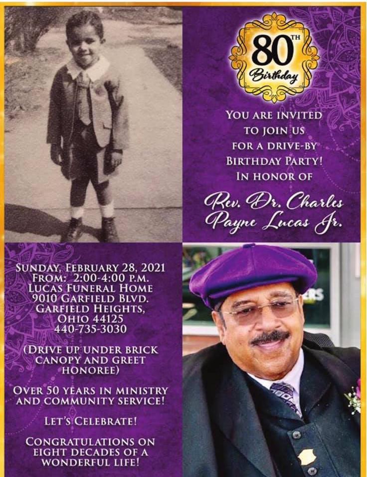 Reverend Dr. Charles Payne Lucas Jr. (Pa Pa)