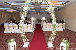 White Floral Arch 4