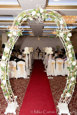 White Floral Arch 3