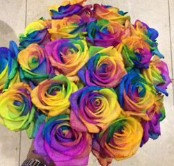 Colourful Fresh Hand Tie Bouquet