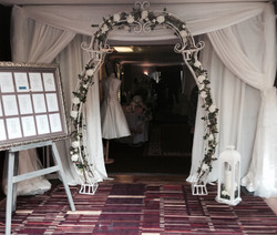 White Floral Arch