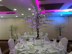 Cherry Blossom Reception Table Centre Piece 2