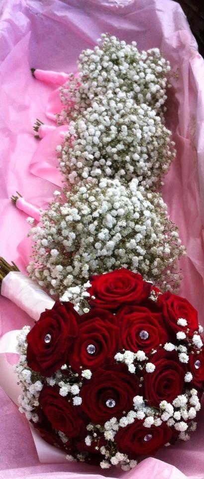Fresh Hand Tie Bouquets