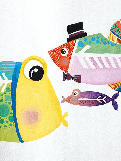 XAVIER THE X-RAY FISH