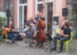 Gypsy Jazz, Jazz Quartett, Musik für Firmenfeier, Hochzeit, Firmenevent, Geburtstag