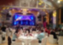 Hochzeitsband, Abendveranstaltung