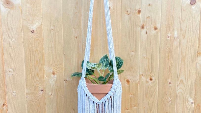 Fringe Handmade Macrame Plant Hanger