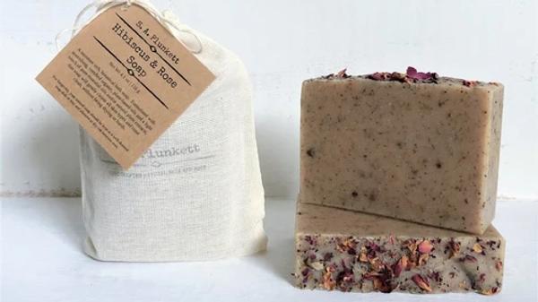 Hibiscus & Rose Soap