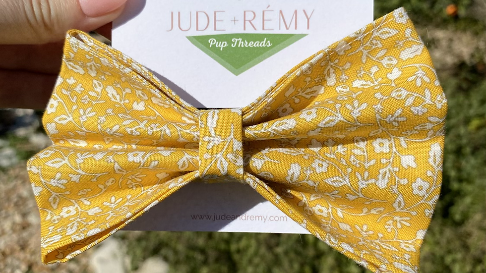 The Provincial Flower Bow Tie