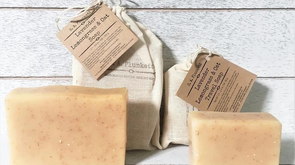 Lavender Lemongrass & Oat Soap