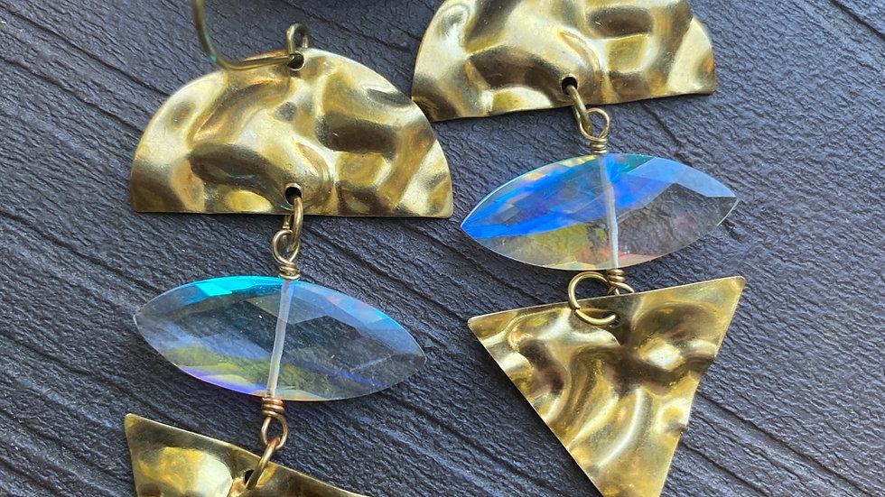 Iridescent Sky Earrings