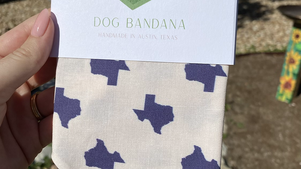 Texas Pet Bandana