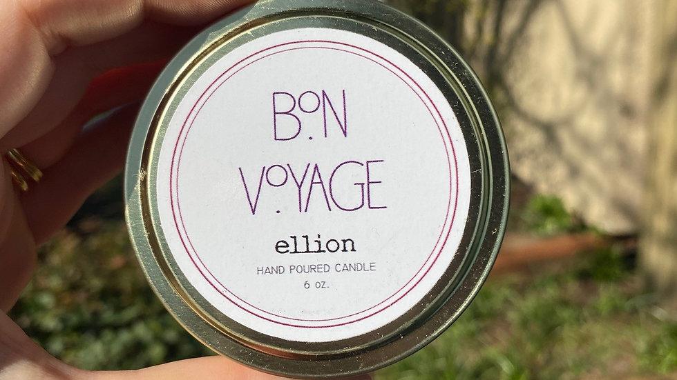 Bon Voyage Candle