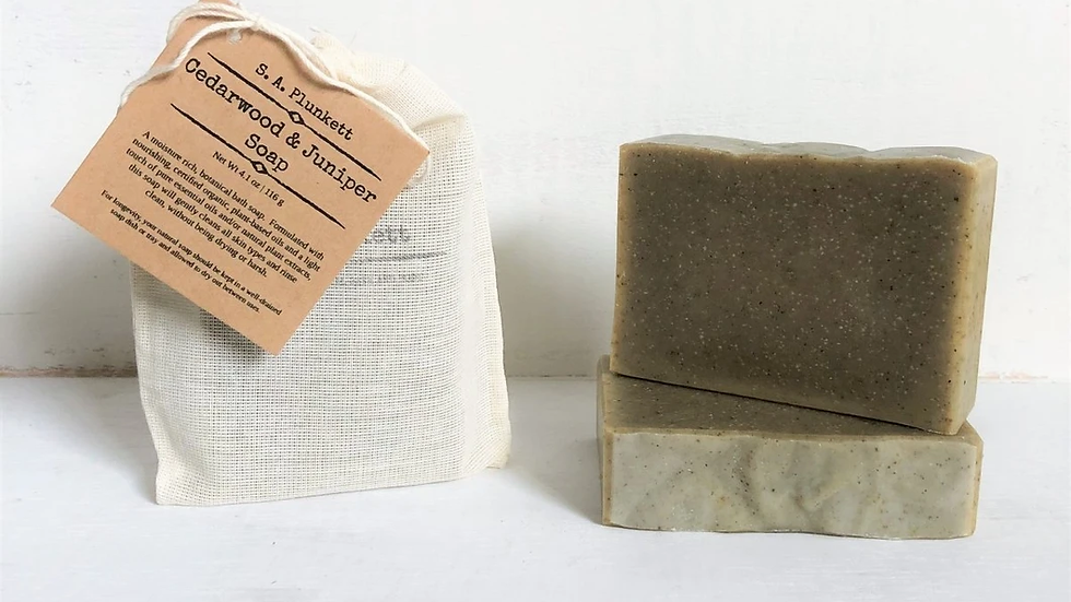 Cedarwood & Juniper Soap