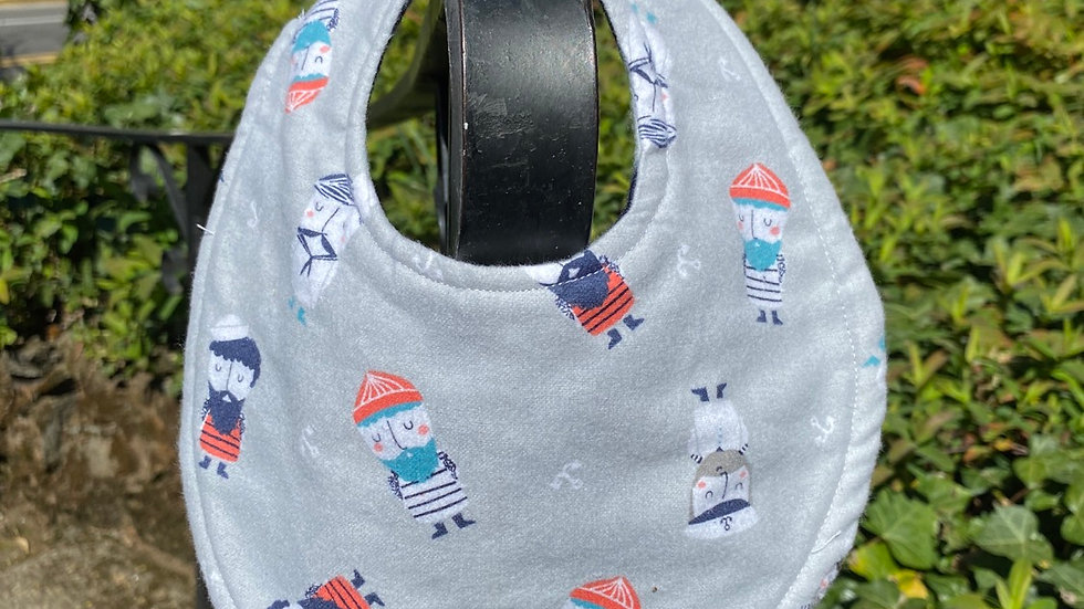 Sailor Baby Bib