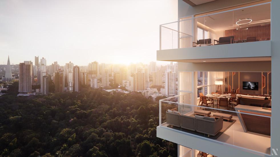 El Cielo - Vista Externa dos Apartamentos