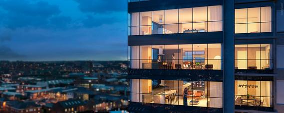 Epic Tower - Vista Externa dos Apartamentos