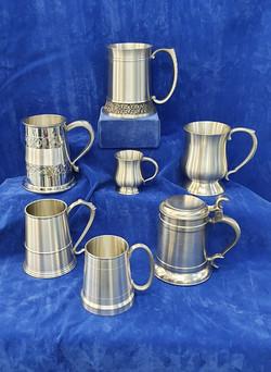 Pewter Mugs