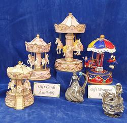 Children's musical carousels