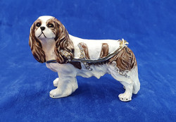 King Charles Enamel Dog