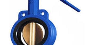 Затвор дисковый поворотный межфланцевый чугунный Ду 700 Ру 10