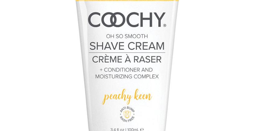 Coochy Shave Cream-Peachy Keen 3.4oz
