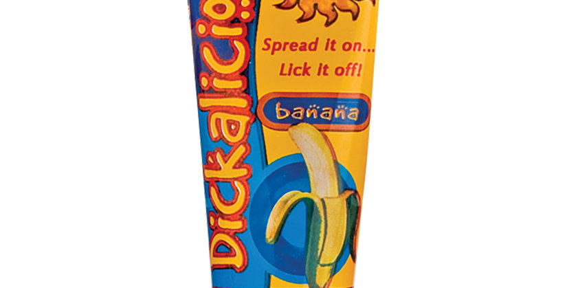 Dickalicious Gel-Banana 2oz