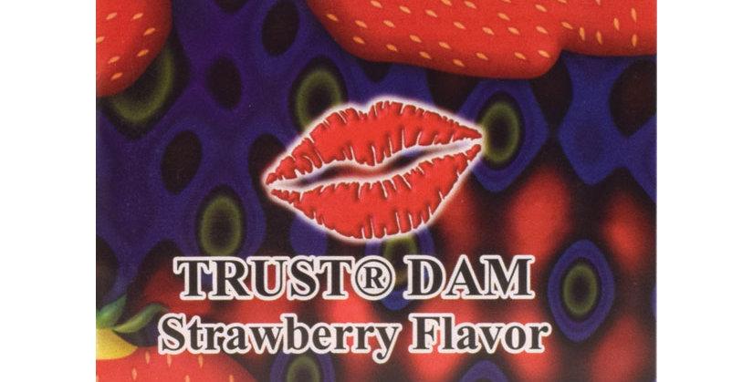 Dental Dam Condom - Strawberry