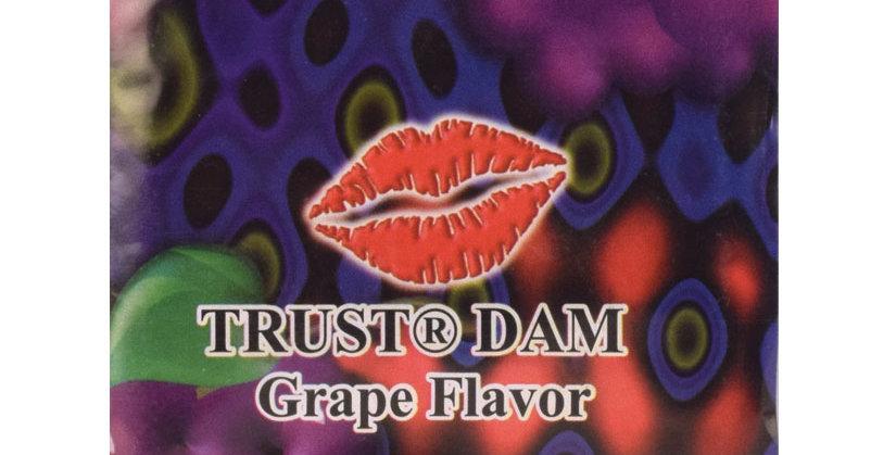 Dental Dam Condom -Grape