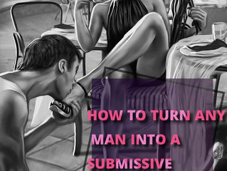 HOW TO MAKE YOUR MAN A SLAVE