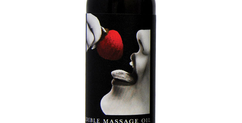 Edible Massage Oil -Strawberry