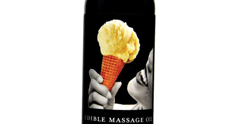 Edible Massage Oil - Vanilla Ice cream