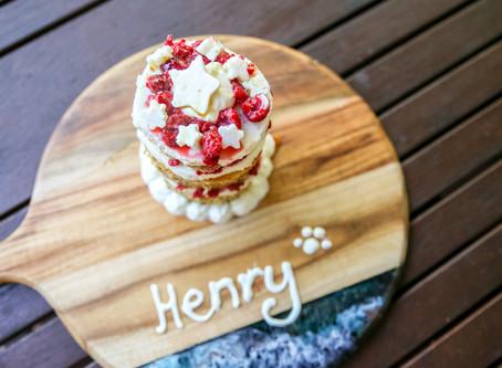 Henry's Birthday Cake Smash and Recipe!