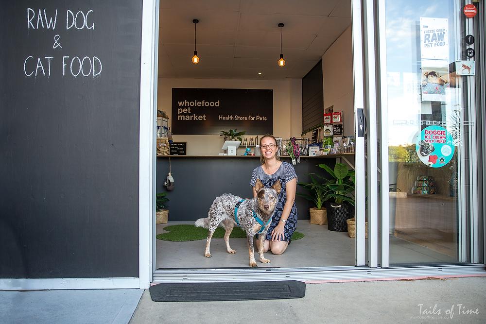 wholefood pet market Janine Soryal and Gus