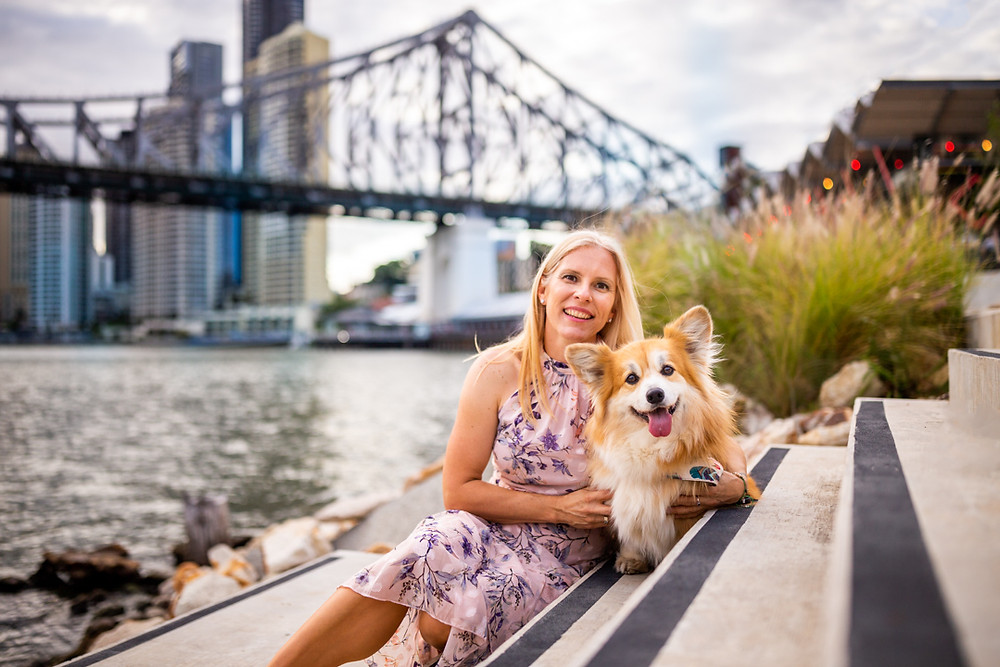 A family portrait session at Howard Smith Wharves