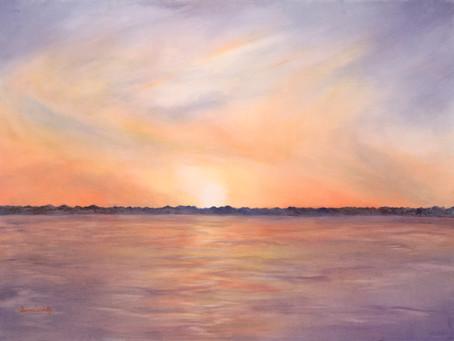 Luminescent Skies in Watercolor Workshop