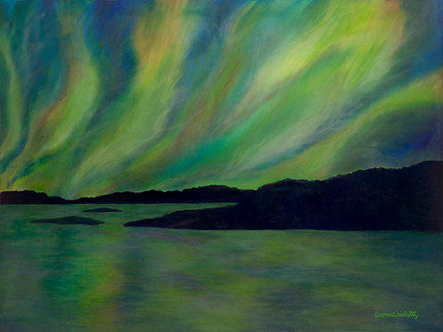 "Northern Reflections 20"" x 15"" Giclee Unframed"