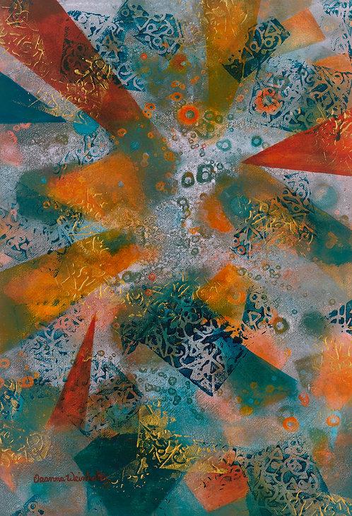 Stars Above Original Acrylic