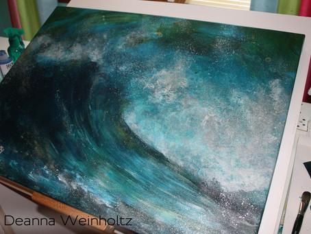 "Creating ""Paradise"" Giclee by Deanna Weinholtz"