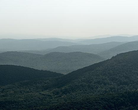 Montagnes bleues - Horizontale