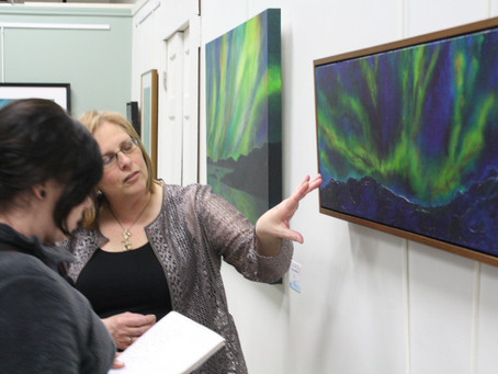 """Northern Reflections""opens at River Art Gallery by Deanna Weinholtz"
