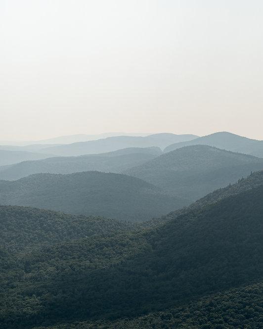 Montagnes bleues - Verticale