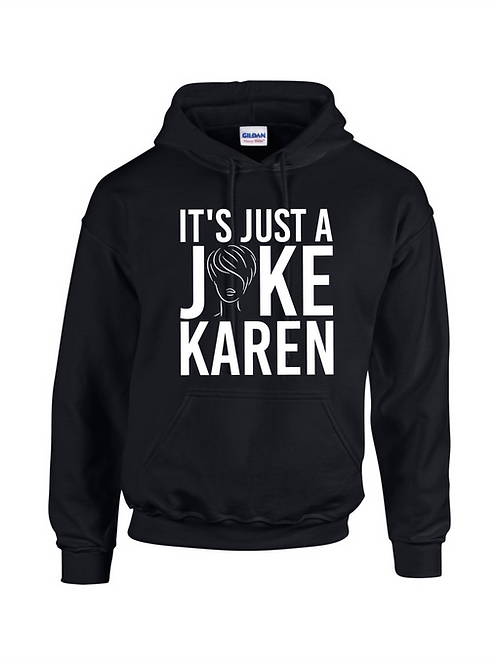 It's Just a Joke Karen Black Hood