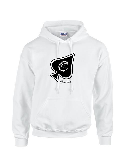 White Logo Hood